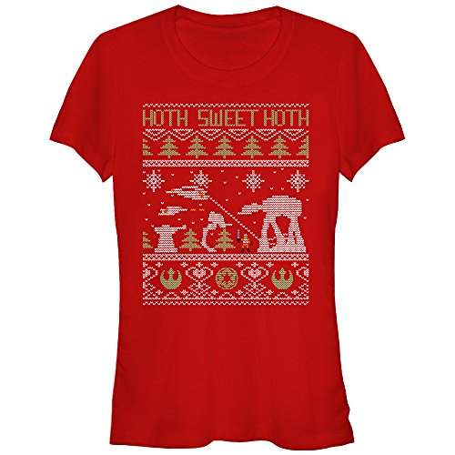 Hoth Sweet Hoth Ugly Juniors T-Shirt