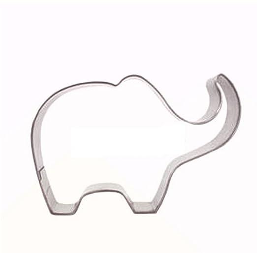 Mindruer - Molde para repostería con diseño de elefante: Amazon.es: Hogar