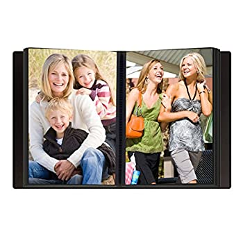 "Pioneer Photo Albums Mini Frame Cover Photo Album, Navy Blue, 4"" X 6"" 1"