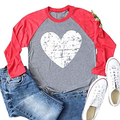 Heart Baseball T-Shirt - 4