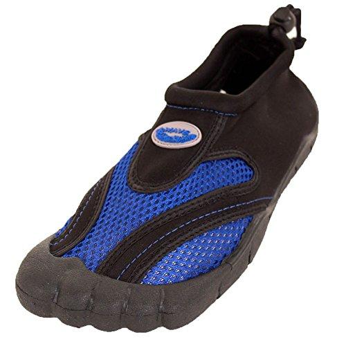 Easy Usa Mens Teen Slide Aqua Sokken Water Schoenen Koningsblauw
