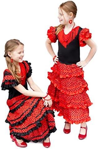 Amazon.com: La Senorita Español Flamenco vestido disfraz ...