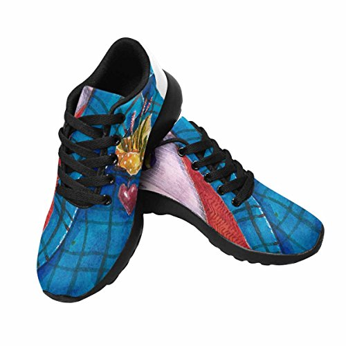 InterestPrint Men's Jogging Running Sneaker Lightweight Go Easy Walking Casual Comfort Running Shoes 8 B(M) US Men in Wedding Clothe by InterestPrint