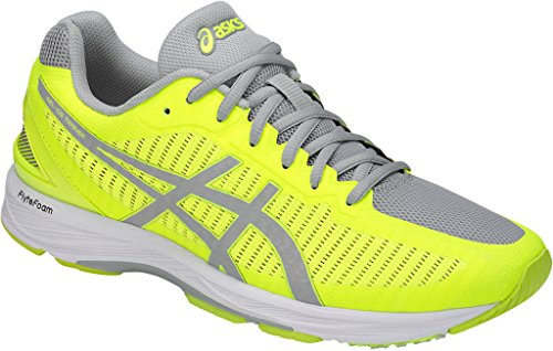 ASICS Men's Gel-DS Trainer 23 Safety Yellow/Mid Grey/White 10 D US (Asics Ds Trainer)