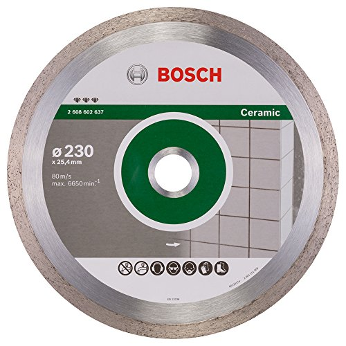 2608602637 Bosch 230MM Diamond Cutting DISC Best for Ceramic ()
