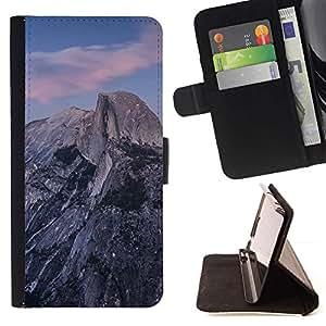 Momo Phone Case / Flip Funda de Cuero Case Cover - Hermosa Montañas Rocosas;;;;;;;; - Sony Xperia Z5 Compact Z5 Mini (Not for Normal Z5)