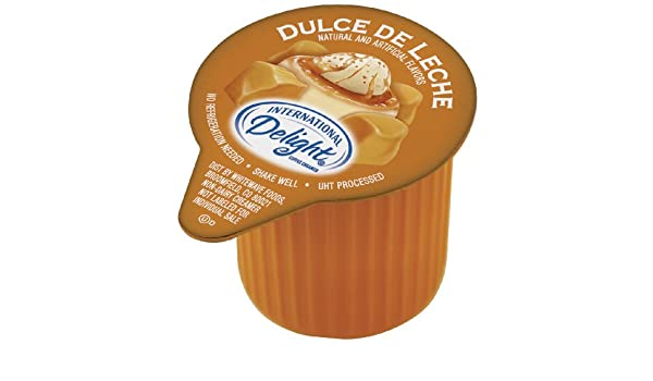 International Delight Dulce De Leche Liquid Creamer, 288-Count Single-Serve Packages: Amazon.com: Grocery & Gourmet Food