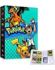 Album for Pokemon Cards, Pokemon Trading Card Protector Sleeves, Pokemon Card Holder Binder