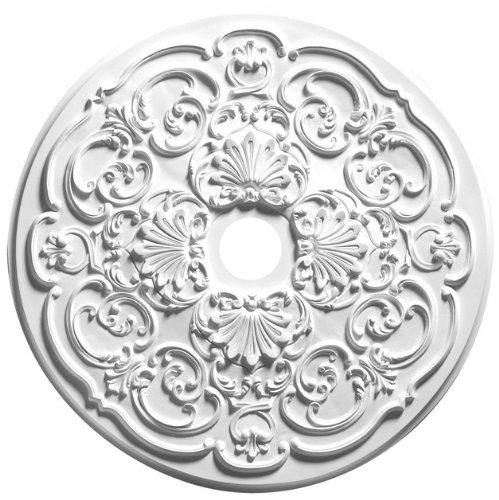 Focal Point 28 Inch Diameter Ceiling Medallion 81028 Stephanie Primed White -