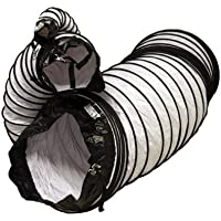 Rubber-Cal Air Ventilator White Ventilation Duct Hose (Fully Stretched) - 4-Inch by 25-Feet