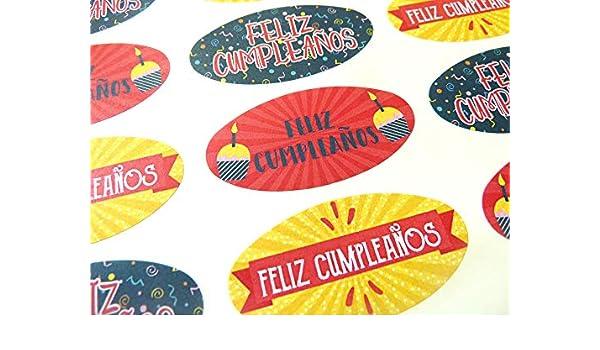 Amazon.com : Pack of 30 Feliz Cumpleanos Spanish Espanol ...