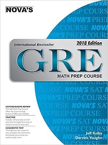 Gre Math Prep Course 2018 Edition Jeff Kolby 9788175994560 Amazon