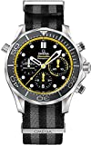 Omega Seamaster Steel on NATO Strap 44mm Men's Watch 212.30.44.50.01.002