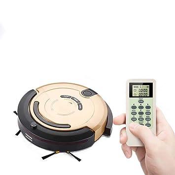 SPFAZJ Aspirador automático portátil hogar máquina control remoto mojado seco fregona succión barrendero robot de limpieza: Amazon.es: Hogar