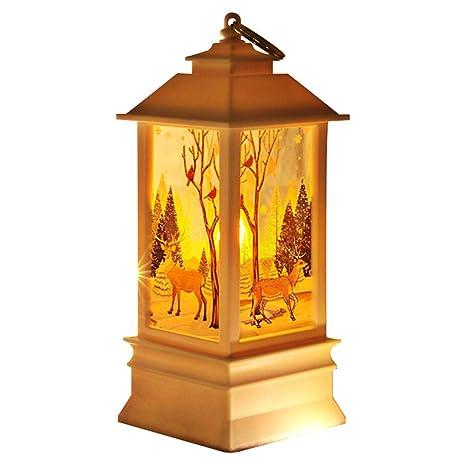 Christmas Lantern.Delidraw Halloween Night Light Small Christmas Lantern Lamp