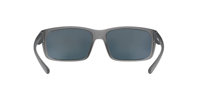 Arnette Mens Fastball 2.0 Non-Polarized Iridium Rectangular Sunglasses matte transparent grey 62.0 mm