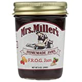og tea company - Mrs. Miller's Jam & Jelly Ultra Variety Pack: F.R.O.G. Jam, Mint Jelly, Apricot Jam, Blackberry Jam, Red Raspberry Jam, Bumbleberry Jam (1 Jar of Each)