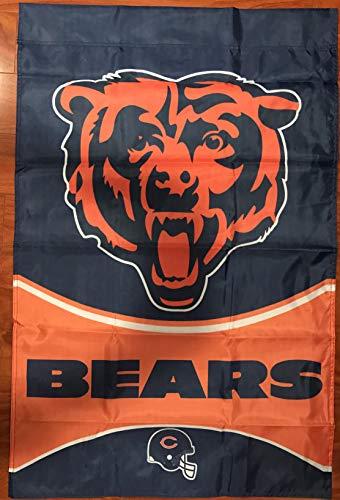- Chicago Bears Football House Flag 28