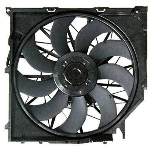 TOPAZ 17113442089 600W Cooling Fan Assembly for BMW X3 E83 04-10 - 3 Engine Cooling