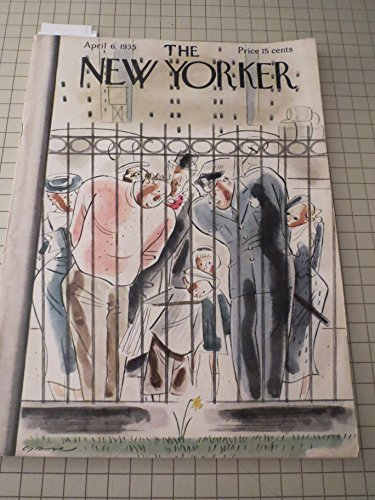 April 6,1935 The New Yorker Magazine: John O'Hara - Profiles: Elizabeth Arden - The Theatre:Clifford Odets - Skyrockets - Maddy Vegtel - London Letter - Hockey:New York Rangers - Hannah Lees - That Was New York:The Great Chowder Murder