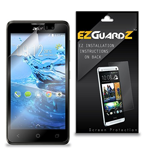 (2-Pack) EZGuardZ Screen Protector for Acer Liquid Z520 (Ultra Clear)