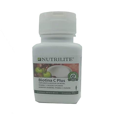 Biotina C Plus biológica NUTRILITE - Pelo Piel y Uñas (90 comprimidos). Este