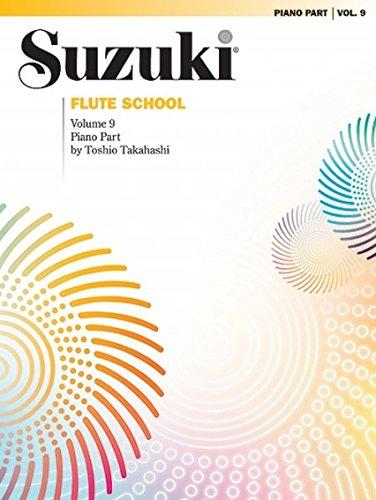 Suzuki Flute School, Vol 9: Piano Acc.