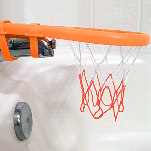 3 Bees & Me Bath Toy Basketball Hoop & Balls Set for Boys and Girls - Kid & Toddler Bath Toys Gift Set by 3 Bees & Me (Image #4)
