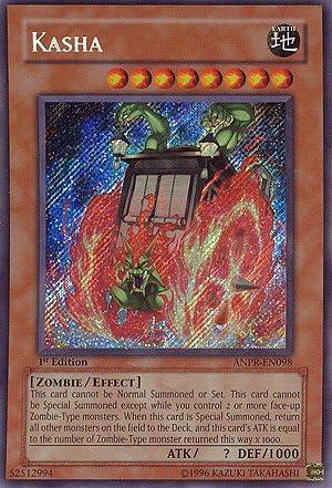 Kasha Yugioh Card Genuine Yu-Gi-Oh Trading Card