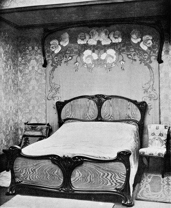 Print of Chambre ‰ÛÏ coucher, by Eugene Gaillard from the ...