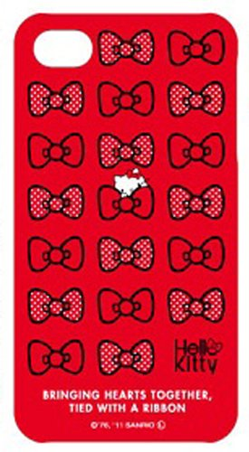 Hello-Kitty Typ-B Schutzhülle für Apple iPhone 4/4S rot