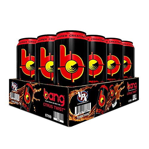 - VPX Bang Citrus Twist 12 Cans, 16Fl. Oz (12 Count)