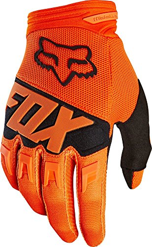 2018 Fox Racing Youth Dirtpaw Race Gloves-Orange-YM