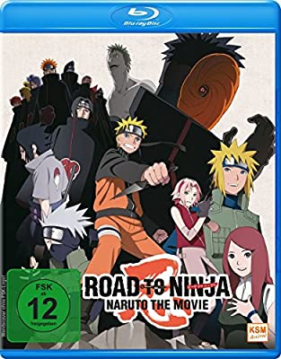 Road to Ninja - Naruto - The Movie 2012 Alemania Blu-ray ...
