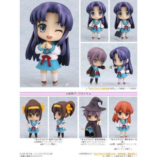 The Melancholy of Haruhi Suzumiya Nendoroid Ryoko Asahina PVC Figure w// Enhancing Parts Set
