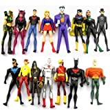 15 DC Universe Young Justice Super Hero Action Figures Ranging from 3.75' to 4.25' Tall