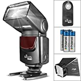 Photo : Altura Photo AP-UNV1 Bundle – DSLR Camera Flash Speedlite for Canon Nikon