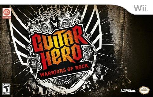 Rock Band Bundle Wii (Guitar Hero: Warriors of Rock Super Bundle - Nintendo Wii)