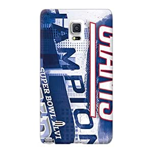Protective Hard Cell-phone Cases For Samsung Galaxy Note 4 With Support Your Personal Customized Nice New York Giants Series TrevorBahri