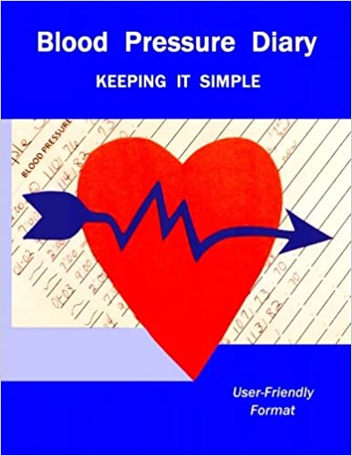 Amazon Com Blood Pressure Diary Keeping It Simple 9781977889799