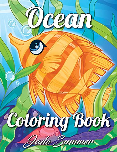 Ocean Coloring Book Underwater Relaxation product image