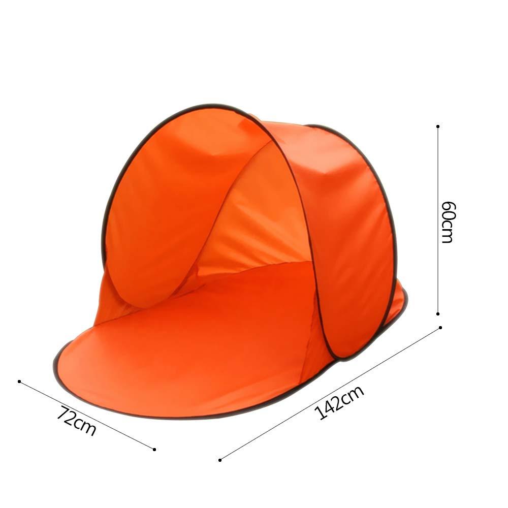DAZISEN Kinder Camping Zelt Jungen M/ädchen Drau/ßen UV-Schutz Faltbar Zelt