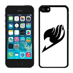 Lovely Fairy Tail 5 Case for iPhone 5c Generation in Black
