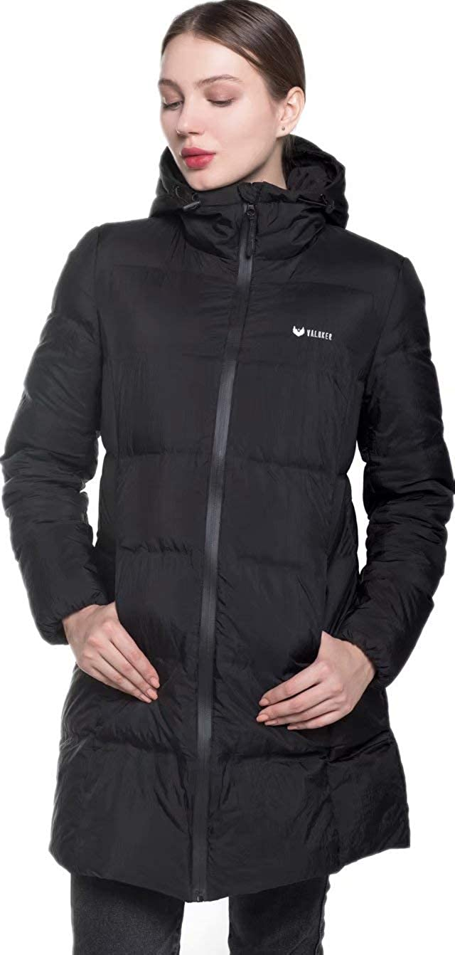 2d07938221e Amazon.com: Beinia Valuker Women's Seamless Hooded Down Coat Jacket Puffer  Parka Jacket: Clothing