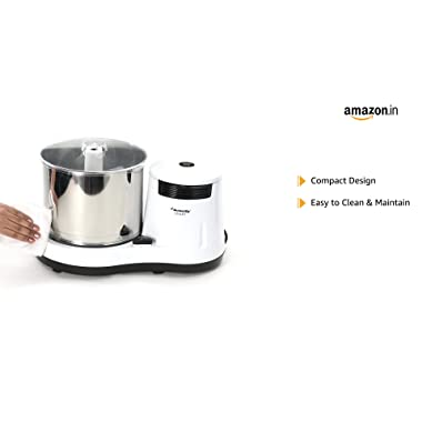 Butterfly Smart Wet Grinder, 2L (White) with Coconut Scrapper Attachment, 150 W 9