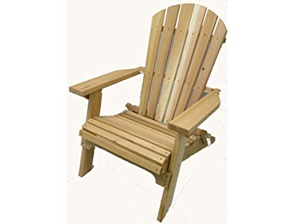 Ordinaire Folding Cedar Adirondack Chair, Amish Crafted