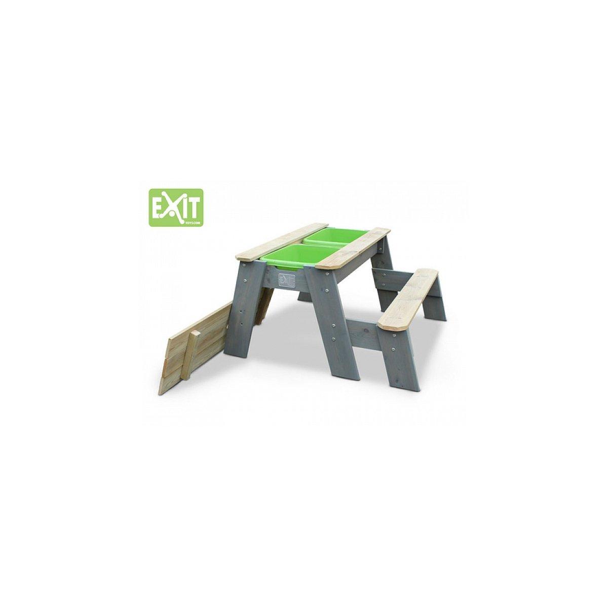 Exit Sand- und Wasserspieltisch mit Bank