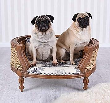 ROYAL DOGS CAMA PARA PERRO TOILE DE JOUR Sofá para perro Sofá de perro Shabby Chic Palazzo Exclusivo: Amazon.es: Productos para mascotas