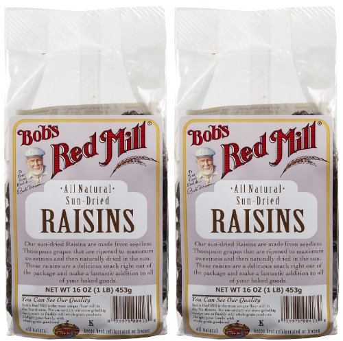 Bob's red mill raisins