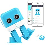 RC Robot,SGOTA Multi-Functional Remote Control Robot Intelligent Educational Mini Dancing Robot with Music and Lighting